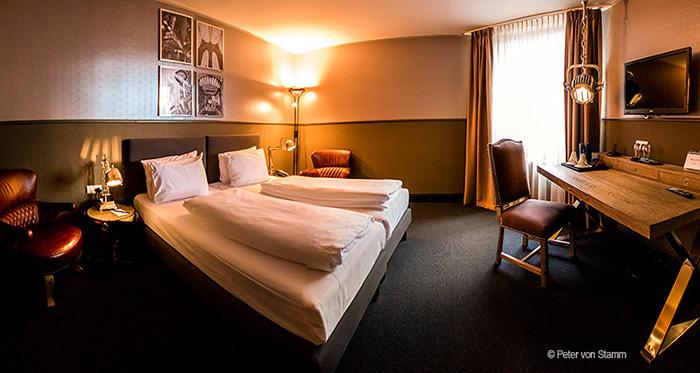 Zimmer im Hotel Wyndham Mannheim
