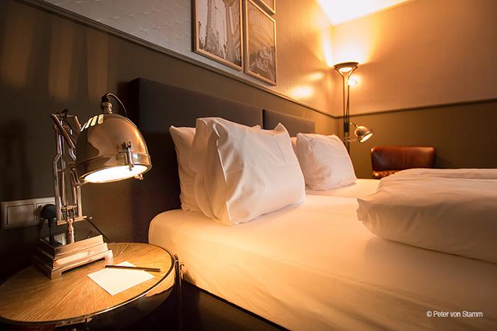 Doppelzimmer im Hotel Wyndham Mannheim