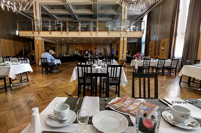 Frühstücksraum im Wyndham Mannheim