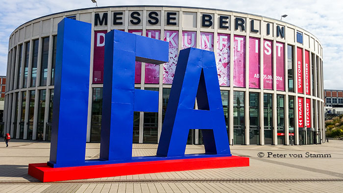 IFA visit in Berlin