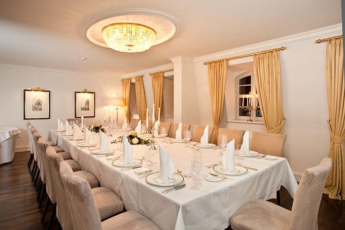 Private Dining im Hotel Suitess