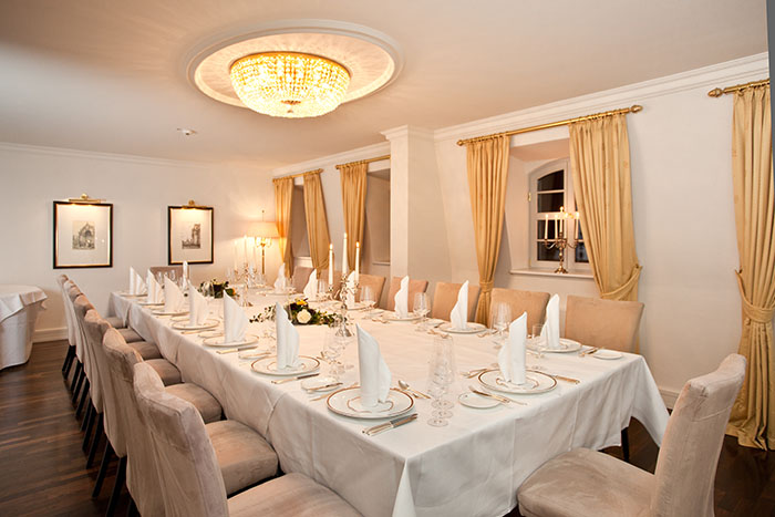 Private Dining im Hotel Suitess