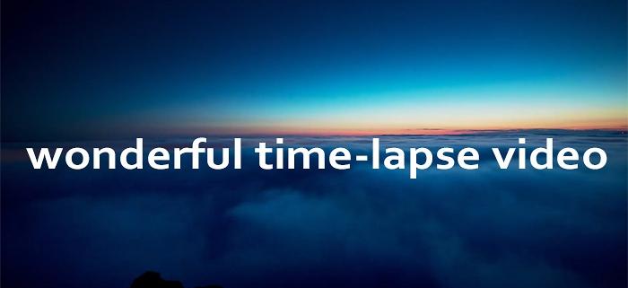 Edinburgh time-lapse