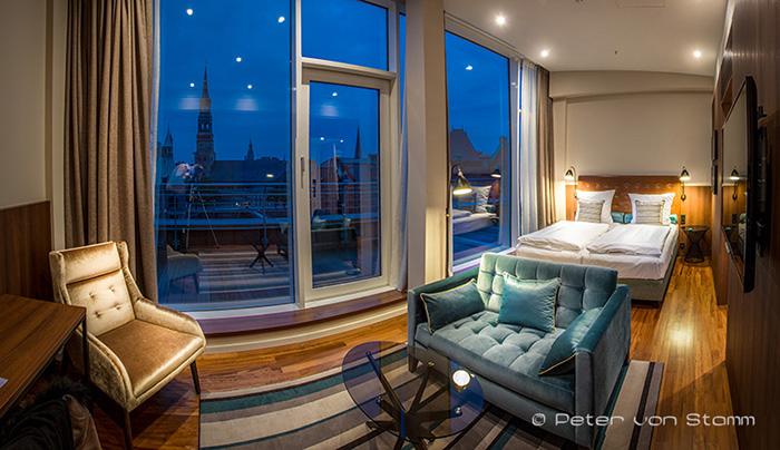 Suite im Ameronm Hotel Speicherstadt Hamburg