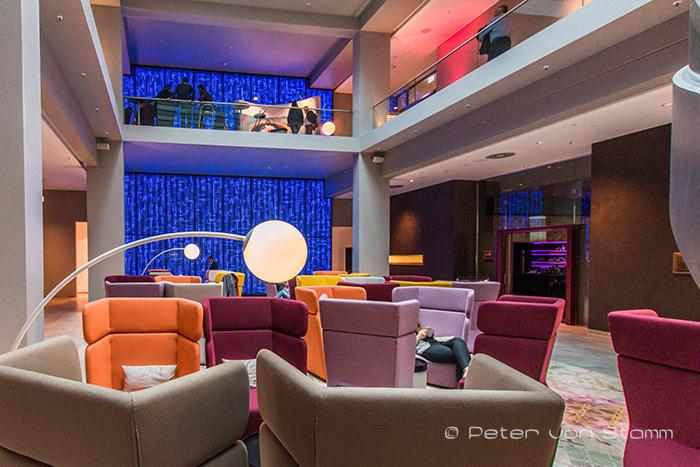 Lounge im Steigenberger am Kanzleramt