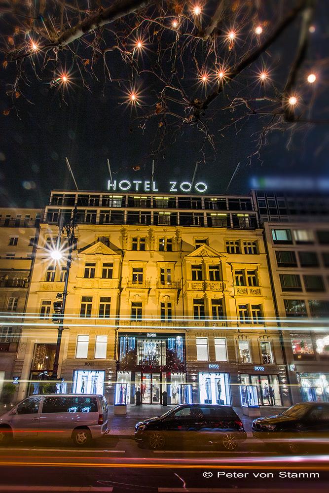 Das Hotel Zoo in Berlin - aussen