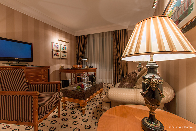 Suite im Ritz Carlton, Berlin