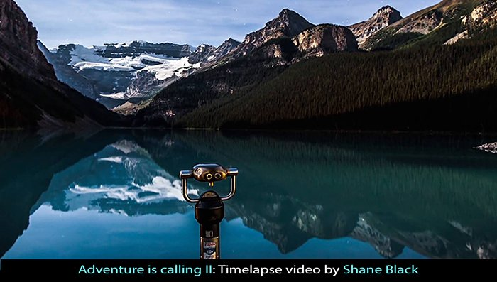 Wonderful Timelapse Video: Adventure Is Calling II.