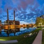Hotel Ritz Carlton Wolfsburg abends