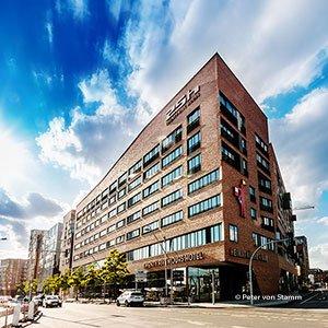Das 25hours Hotel Hafencity in Hamburg