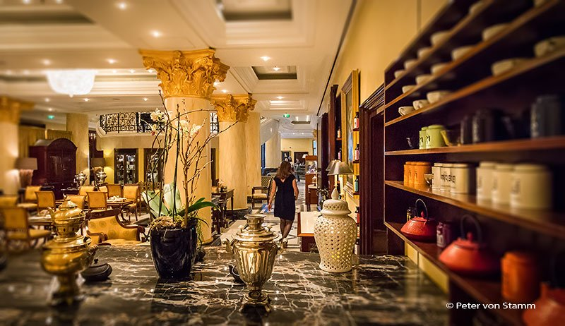 Tea Lounge im Ritz-Carlton in Berlin