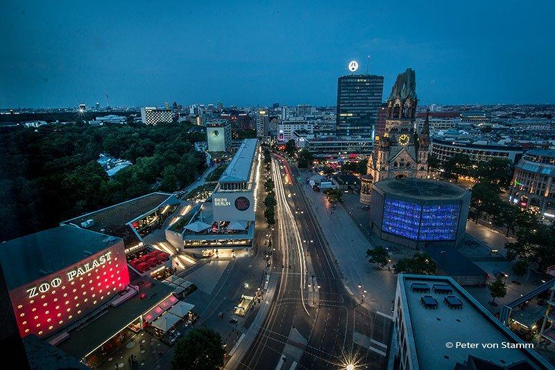 Blick aus dem Waldorf Astoria Berlin