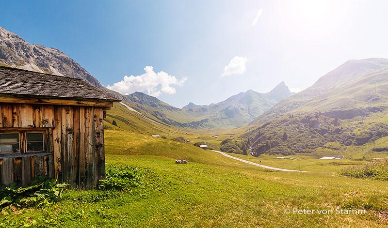 Wanderweg bei Lech
