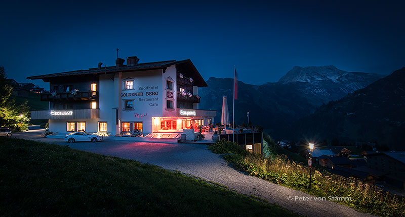 Hotel Goldner Berg in Lech