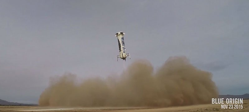 Blue Origin Rocket Amazon