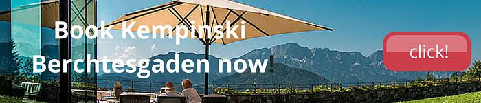 Booking Kempinski Berchtesgaden