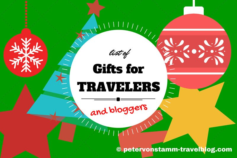 Gift List for Traveler