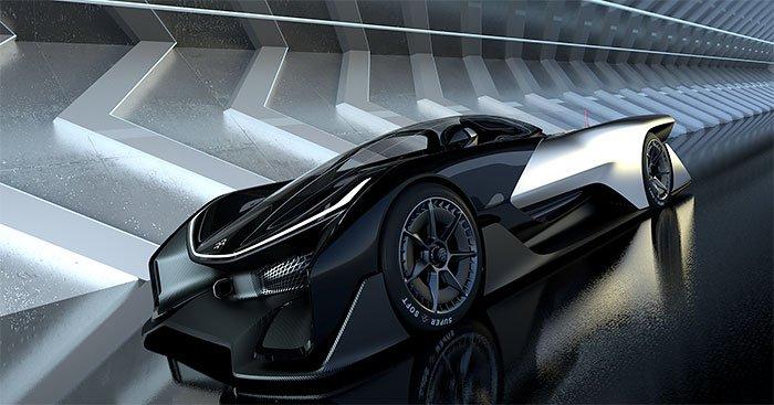 Faraday FFZERO1 electric concept car