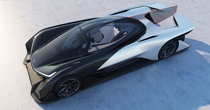 Faraday FFZERO1 electric concept car