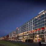 Scandic Hotel Potsdamer Platz Berlin abends