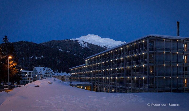 Das Ameron Hotel in Davos
