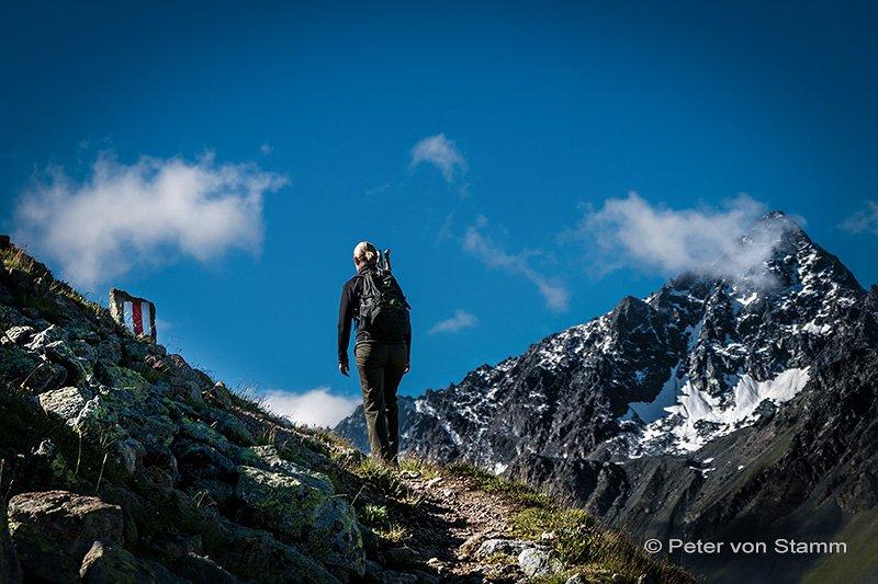 Jöriseen Wanderung bei Davos