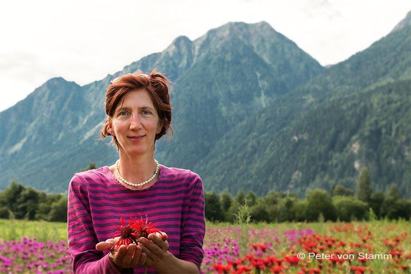 Claudia Lazzarini aus dem Valposchiavo