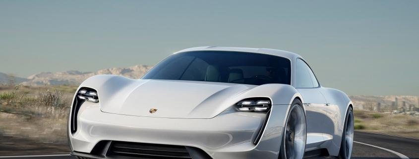 Porsche Mission E front