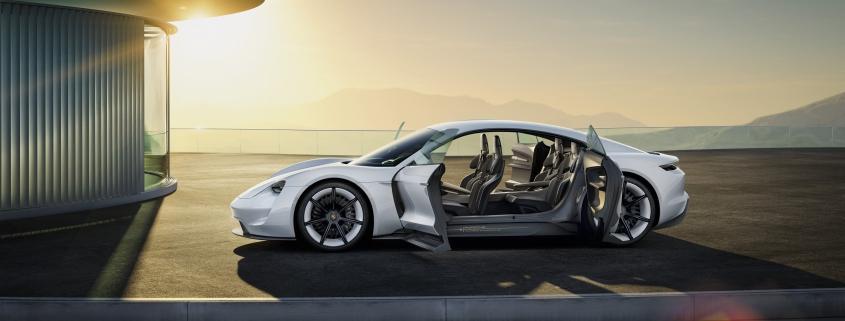 Porsche Mission E Electric