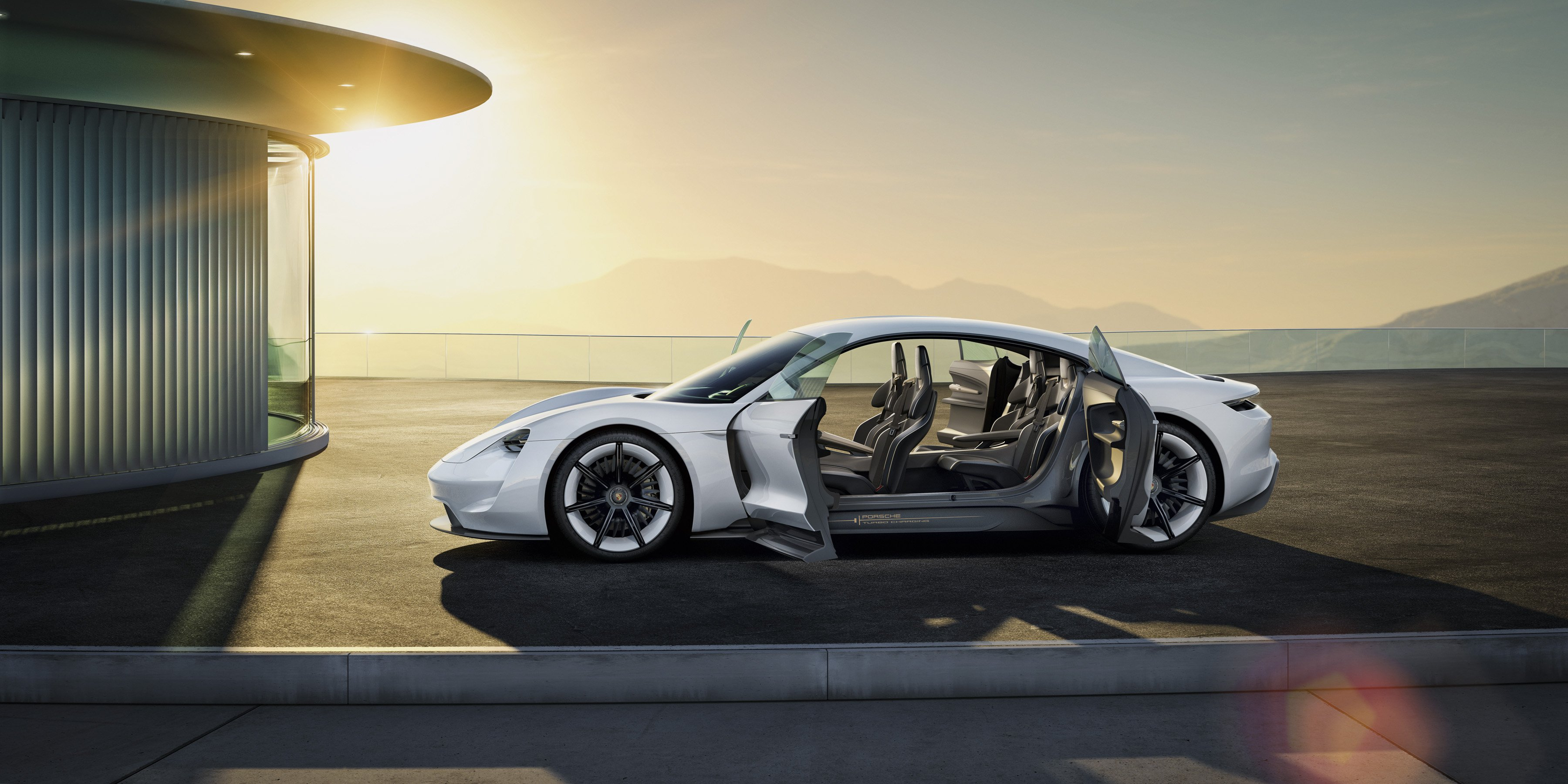 Porsche Mission E Electric