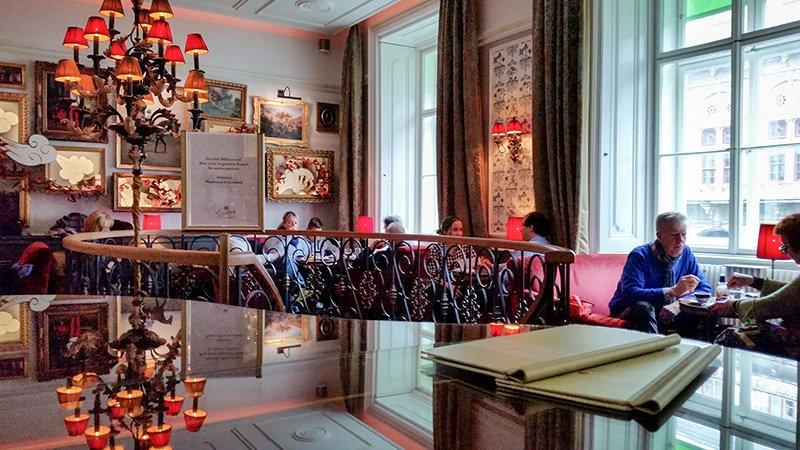 Das Cafe Gerstner in Wien