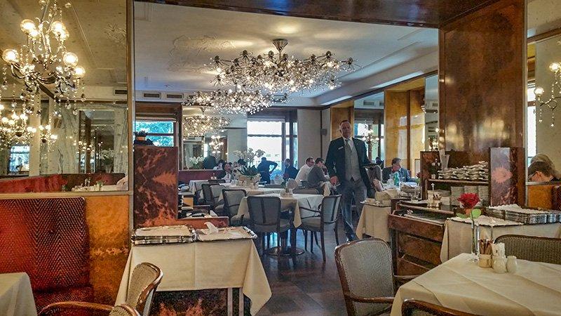 Das Cafe Imperial in Wien