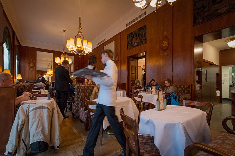 Das Cafe Landtmann in Wien