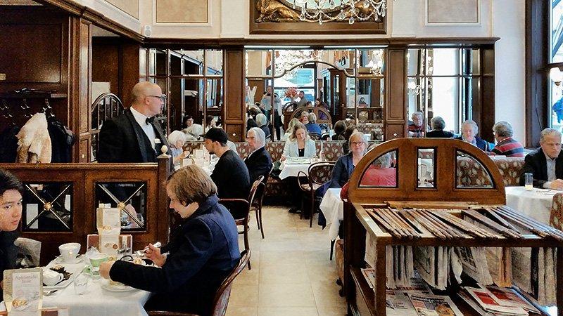 Das Cafe Mozart in Wien