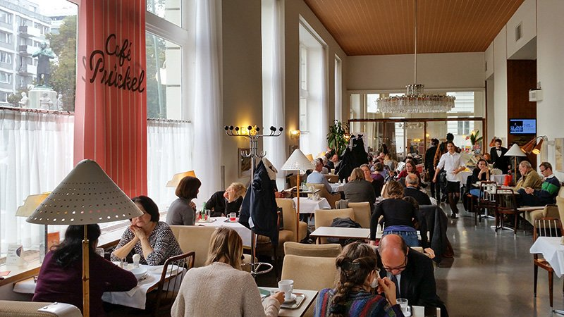 Das Cafe Prückel in Wien