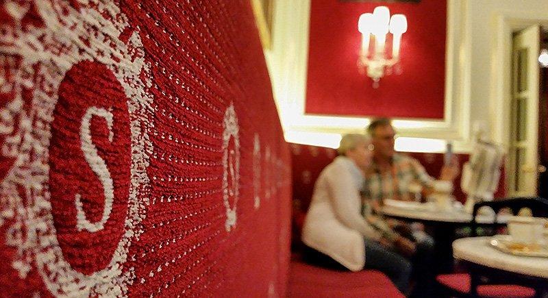Das Cafe Sacher in Wien