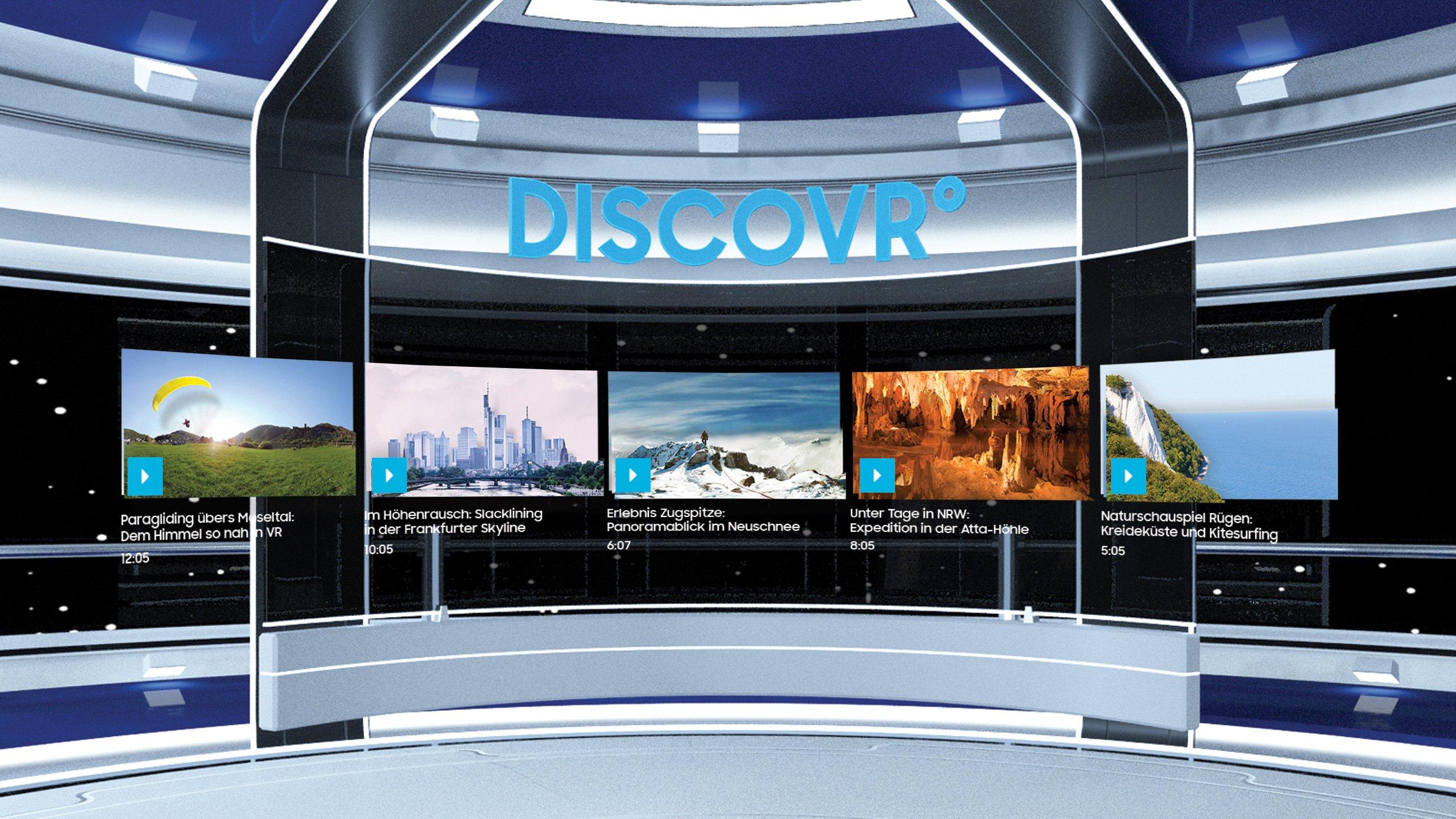 Samsung Disvovr App