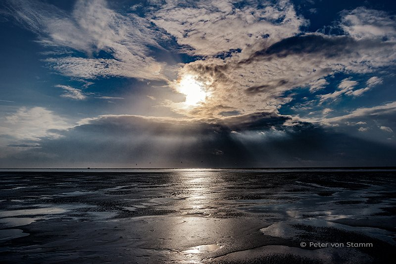 St Peter-Ording at North Sea Coast