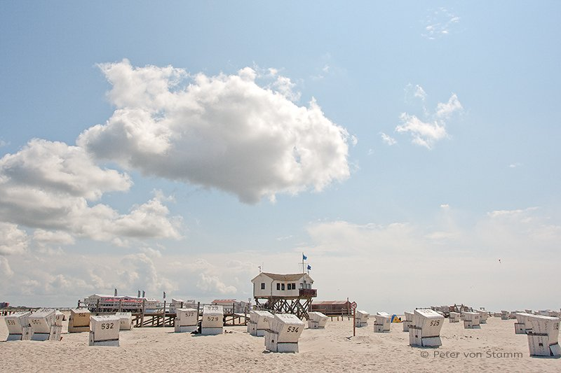 Beach of St Peter-Ording