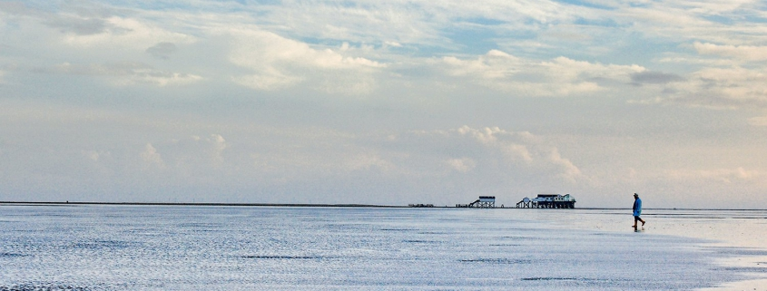 Beach of St Peter Ording