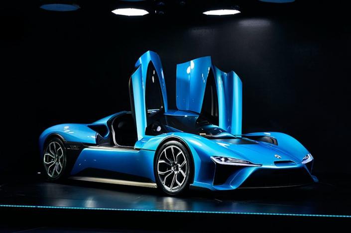 NIO EP9 is the world's fastest electric car - Peter von Stamm