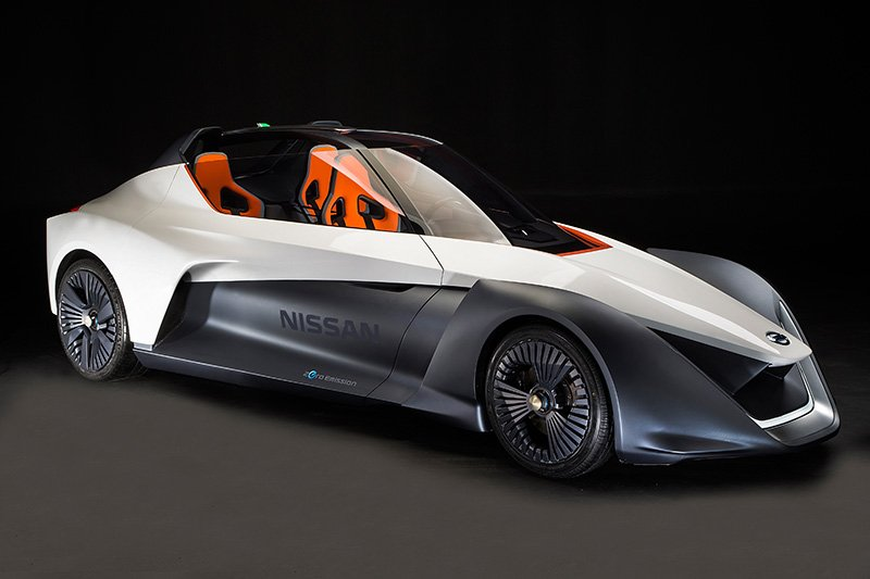 Electric concept car Nissan BladeGlider