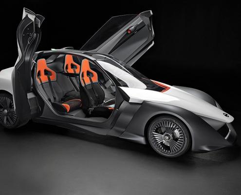 Electric concept Nissan BladeGlider