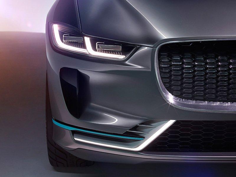 Jaguar I-PACE concept front