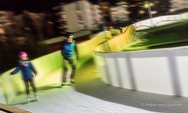 Eistraum Davos in Graubünden