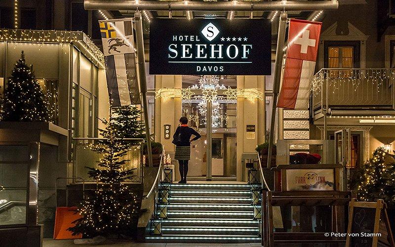 5 Sterne Hotel Seehof Davos