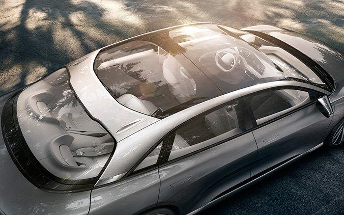 Lucid Air EV luxury sedan