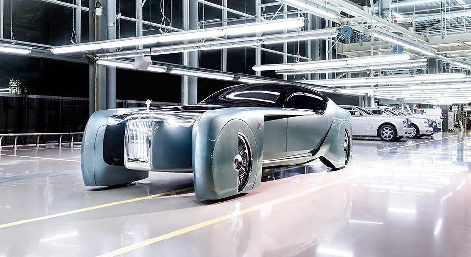 Rolls-Royce VISION NEXT 100 – a vision of luxury mobility