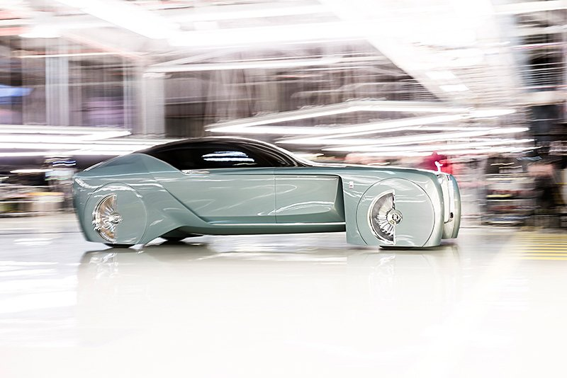 Rolls-Royce VISION NEXT 100 – a vision of the future