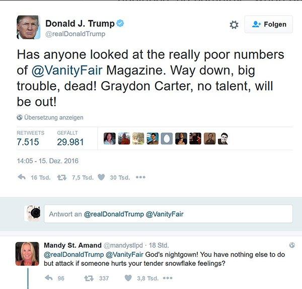 Vanity Fair Donald Trump